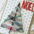 Handmade christmas cards with everyday paper pebbles inc