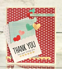 Handmade Thank You Cards
