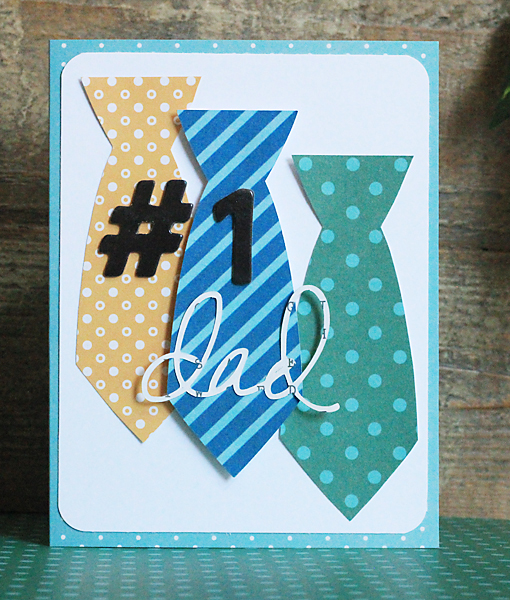 Handmade Father's Day Cards Pebbles Inc