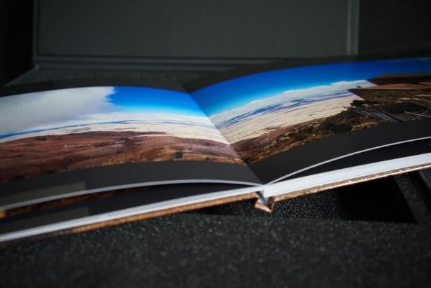 Panorama im Fotobuch