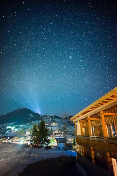Sterne, Hirschegg, Österreich