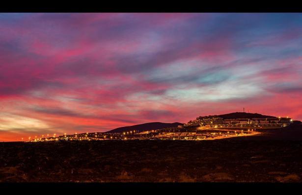 Sonnenuntergang auf Fuerteventura