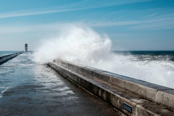 Wellen im Anmarsch