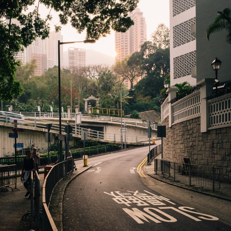 Hongkong in Abendstimmung