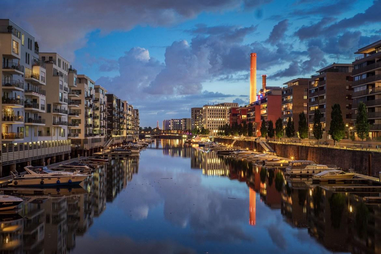 langazeitbelichtung westhafen frankfurt