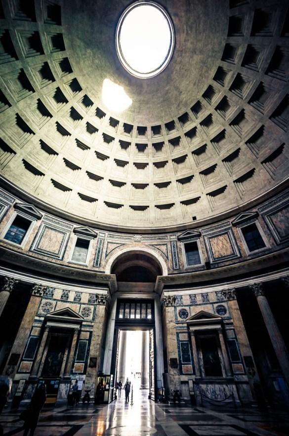 Pantheon von innen