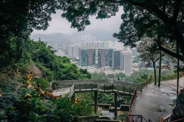 ten thousand buddah monastery Hongkong