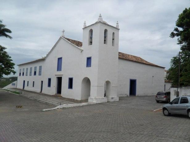 Colégio de Reritiba - ES (hoje Anchieta), onde viveu e morreu Pe. Anchieta.