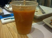 thai iced tea with milk