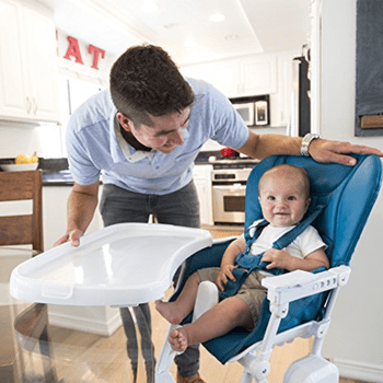 eating chair for toddlers miami dolphins high chairs reviews of the best stokke more tray on nook is all kinds fancy as it also adjusts front to back minimize size food crevasse you know that space between