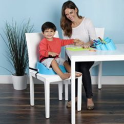 Booster Chairs For Kids Wicker Chair Seat Cushion Covers Seats The Dinner Table Lucie S List Eating Bumbo