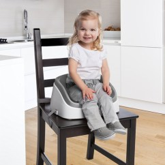 Toddler Chair Booster Seat Green Metal Bistro Chairs Seats For The Dinner Table Lucie S List Eating Ingenuity Smart Clean