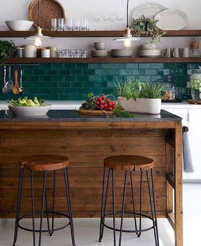 51 Green Kitchen Designs: 35+ Dirty Facts About Emerald Green Kitchen Decor Ideas