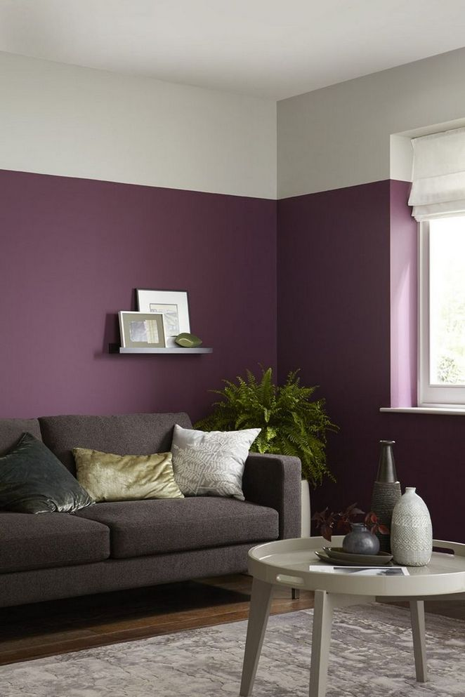 Design Wall Paint Room: 40+ The Little-Known Secrets To Half Painted Walls Living