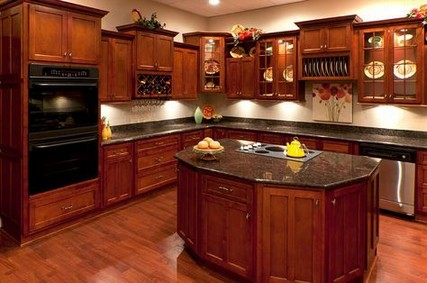 33+ Cherry Wood Cabinets for Small Kitchen Design