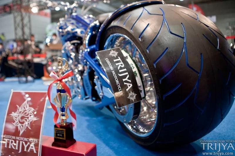 TirePenz em Moto Personalizada num concurso