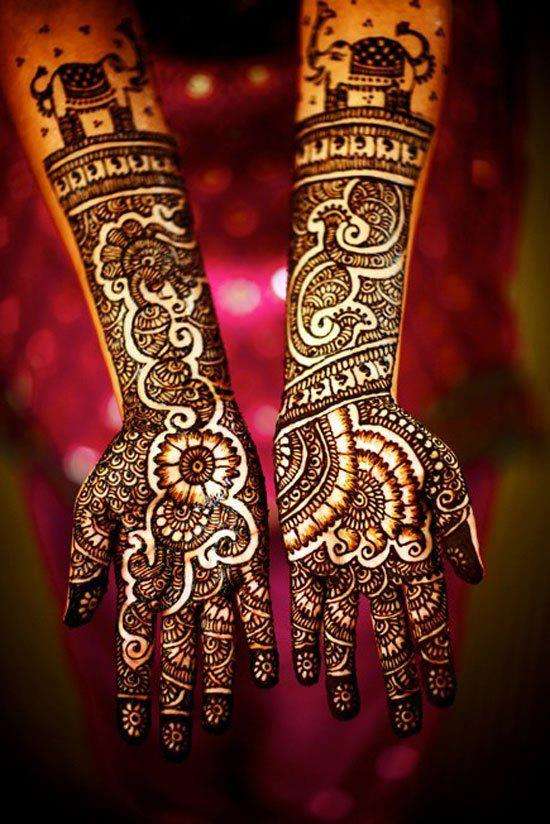 Girl Hand Henna Tattoos images