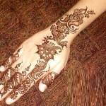 Girl Hand Henna Designs 2016