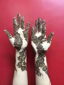Beautiful Arabic Henna Designs 2017