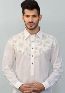 White Kurta Style 2017 Zany Rashid