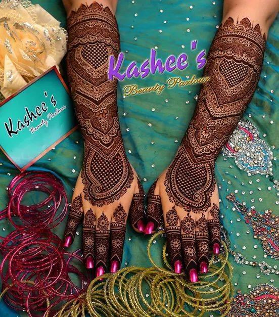 Hand to Arm Henna Designs 2017