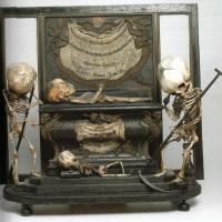 L'autel macabre de la galerie d'Anatomie de l'Ecole des Beaux-Arts