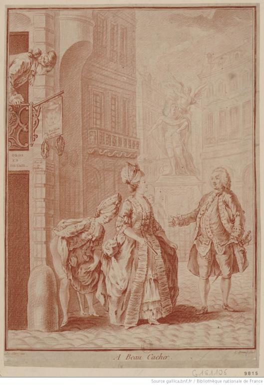 Faire caca  Paris au XVIIIe sicle pas vident  Orion en aroplane