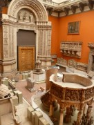 Cast Courts, Victoria and Albert Museum, room 46b en restauration, 2011