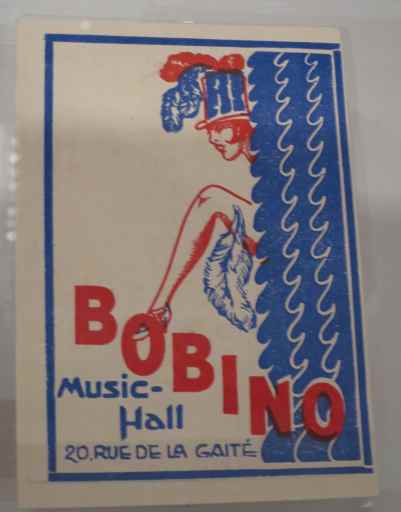 Flyer de Bobino Music-Hall