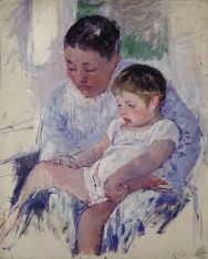 Mary Cassatt, Jenny et son enfant somnolant, 1889, Chicago