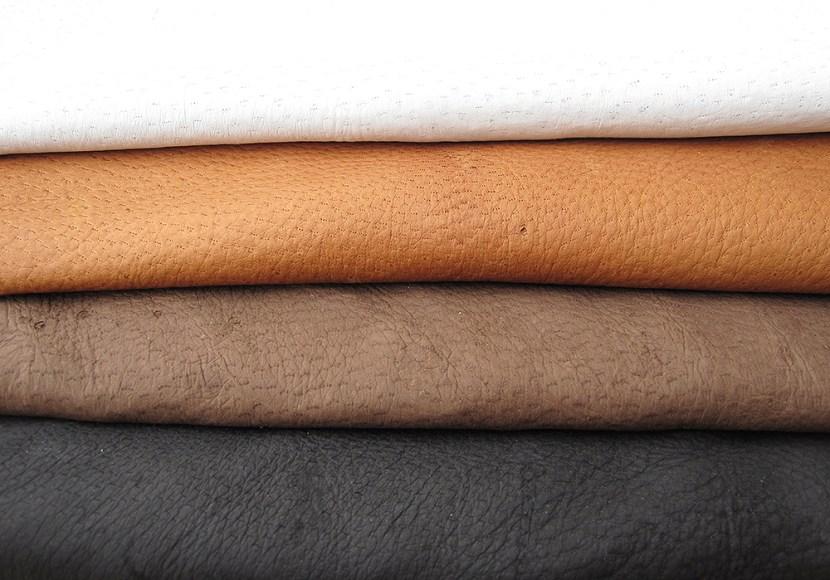couro de queixada tingido em cores de alta qualidade