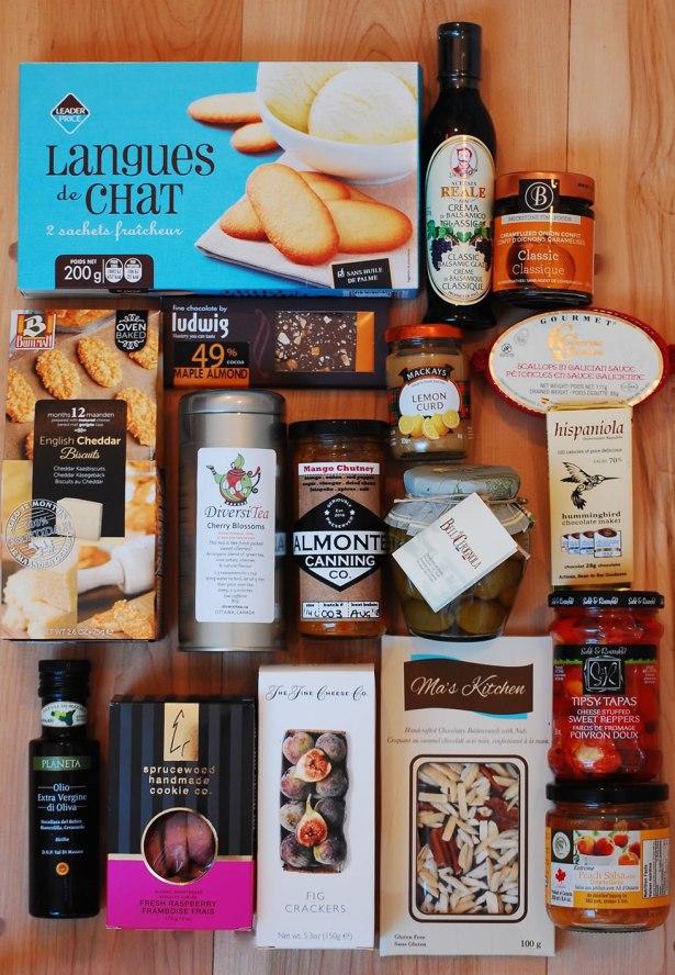 The Indulgence gift basket