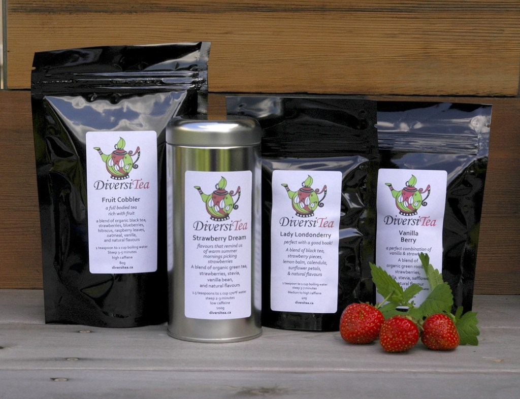 Diversitea selection of teas