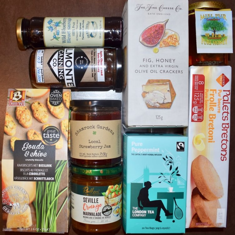 Items in the For your new pantry goody bag