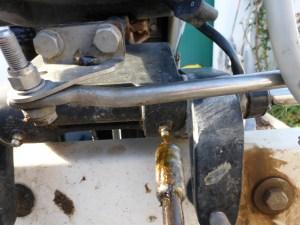 graisseurs sur relevage moteur