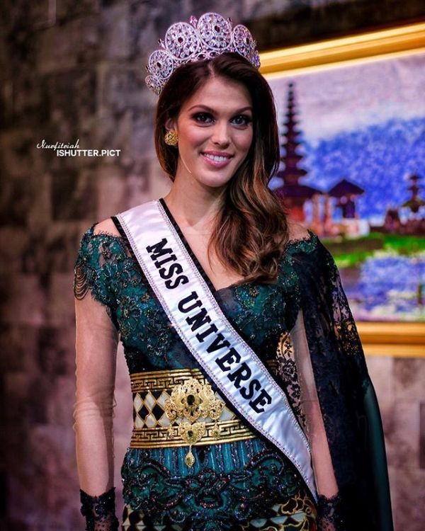 Miss Universe Miss Universe 2016 Iris Mittenaere Visit