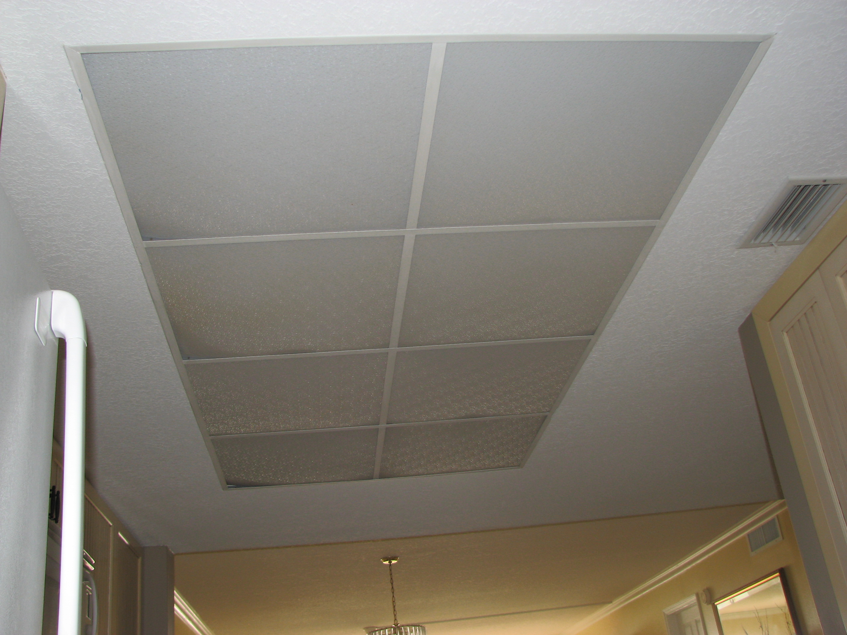 kitchen ceiling lighting led tape what to do with my old drop