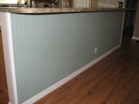 After Photo: Beadboard Installation- Interior Painting ...