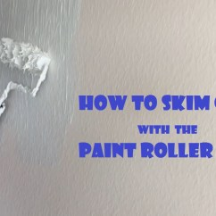 Rolling Island For Kitchen Rehab On A Budget How To Skim Coat Using The Paint Roller Trick