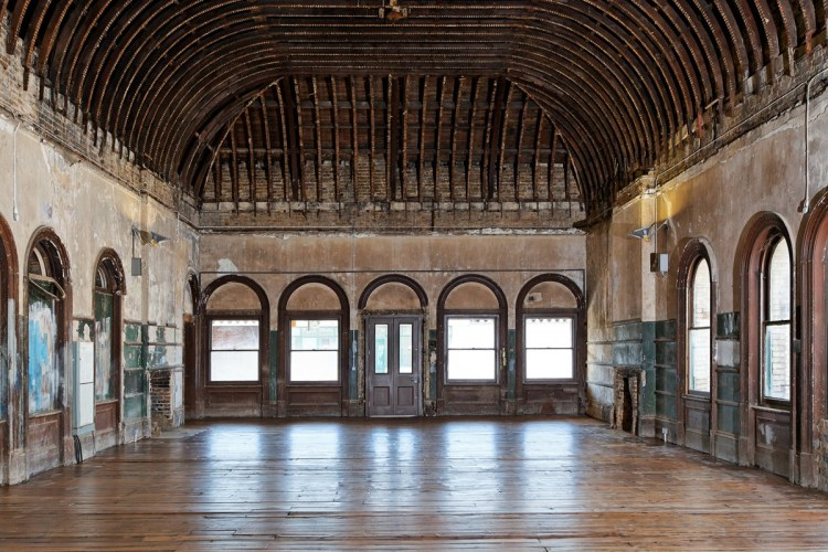 Peckham Rye station's old waiting room