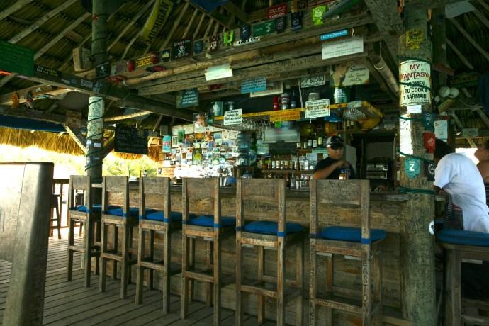 Quiet day at the Palapa Bar