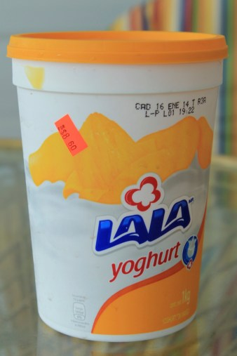 $4.30US for 1kg of yogurt.