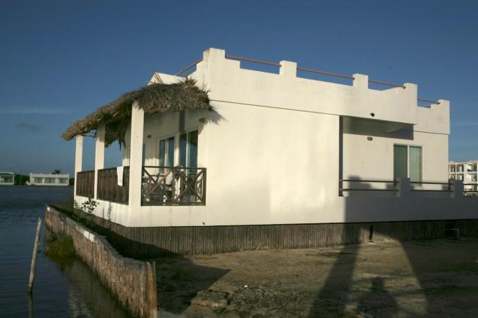 Veranda on our villa.