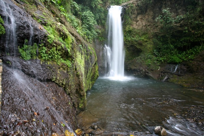 Magia Blanca Waterfall. One of five you can see there.