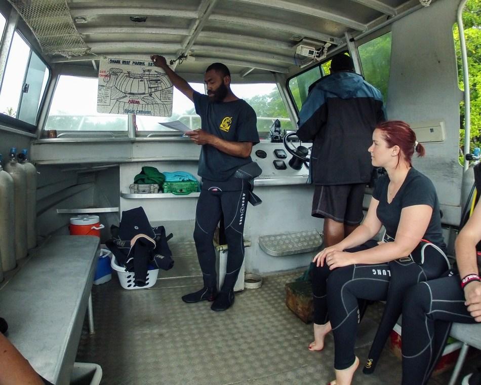 Dive Briefing
