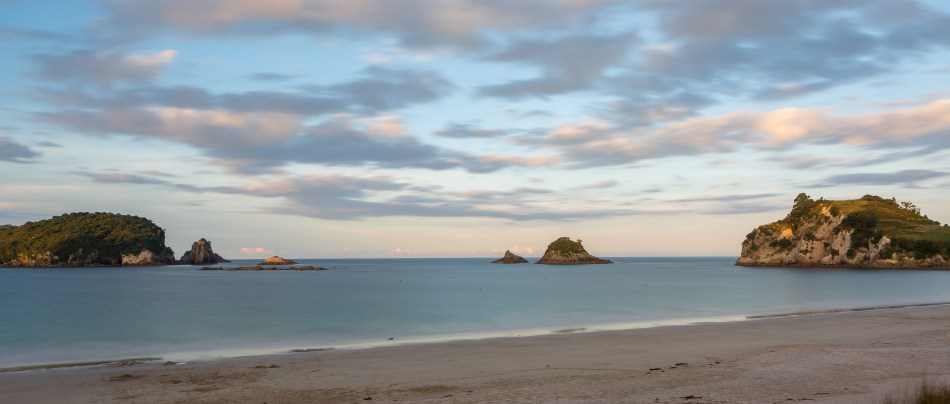 Hahei Beach Sunset