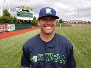 Cody Coffman  Roswell Invaders Professional Baseball
