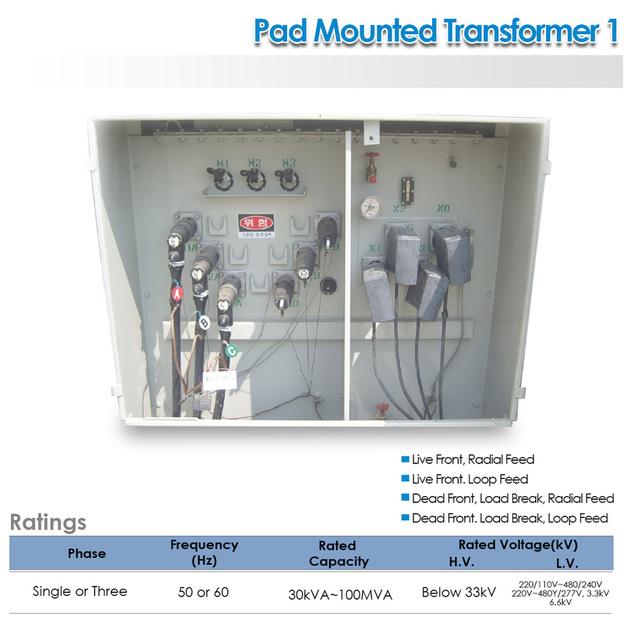 Pad Mounted Transformer  Powertech Eximport Consortium Phil, Corp