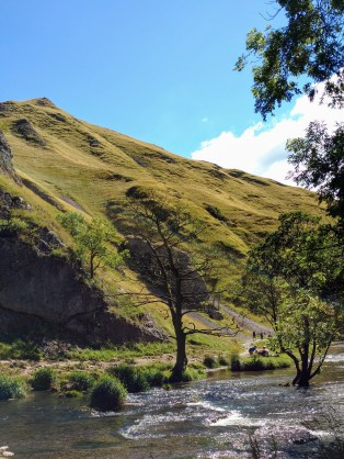 Thorpe Cloud from Dovedale