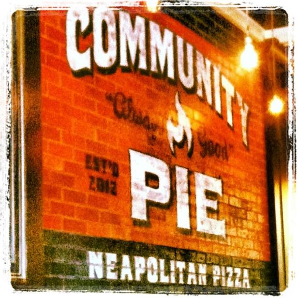Community Pie- Lovely pizza restaurant in Chattanooga, TN--Ask for Joe!